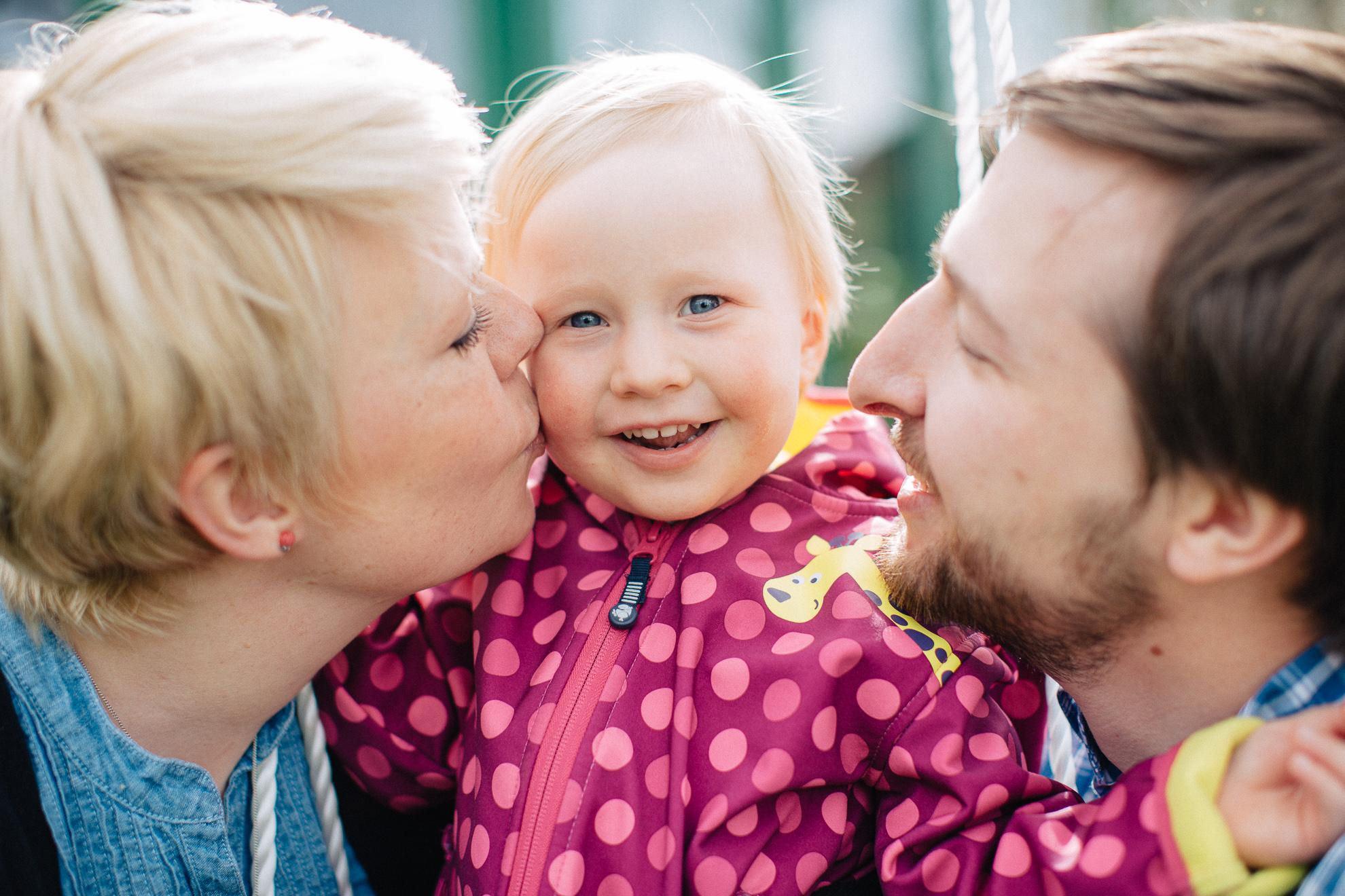 Luca und Familie
